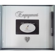 Engagement Signature Photo Frame with Pen Pk 1