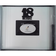 18th Birthday Signature Photo Frame with Pen Pk 1