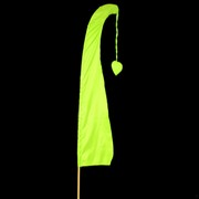 Bali Flag With Tail 1m Lime Pk1