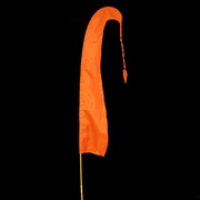 Bali Flag With Tail 1m Orange Pk1