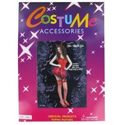 Costume Adult She Devil Red Pk1