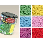 Hearts Edible Cake Sprinkles (6 Colours per Pack) (72g) Pk 1