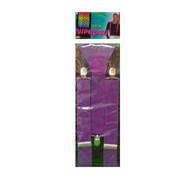 Trouser Braces Suspenders Purple Pk1