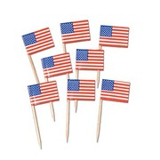 American Flag Toothpicks Pk50