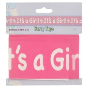 Tape Party Its A Girl 6m Pk1