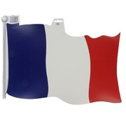 Cutout Flag French 18 inch Pk1