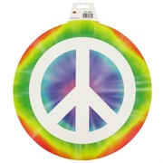 Party Decoration - Hippie Peace Sign Cutout Pk1