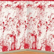Bloody Wall Backdrop Scene Setter (1.2x9.1m) Pk 1