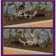 Doomed Groom & Buried Bride Background Decoration Props Pk 2