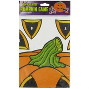 Halloween Party Game - Pin The Nose Pumpkin Pk1