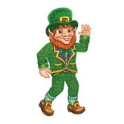 Irish Jointed Leprechaun (84cm) - St Patricks Day Pk 1