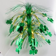 St Patrick's Day Party Decoration - Shamrock Cascade Centrepiece 45cm Pk1