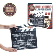 Party Favour - Wooden Movie Set Clapboard (7x8in) Pk1