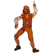 Scene Cutout Pirate Jointed 39in Pk1