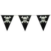 Pirate Jolly Roger Pennant Banner 3.7m Pk1