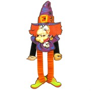 Decoration Hanging Witch 75cm Pk1