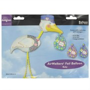 Baby Shower Airwalker Balloon - Special Delivery Stork Pk1