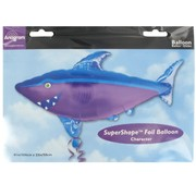 Balloon Foil Supershape Shark Pk1