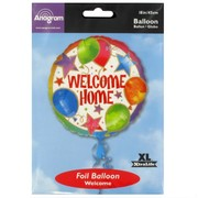 Balloon Foil 18in Welcome Home Celebration Pk1