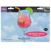 Foil Supershape Party Balloon - Tropical Cooler Pk1