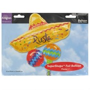 Balloon Foil Supershape Fiesta Cluster Pk1