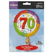 Balloon Foil 18in 70 Perfection Pk1