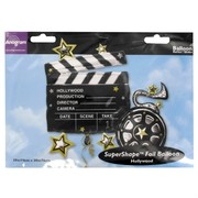 Foil Supershape Party Balloon - Take 1 Clapboard Pk1