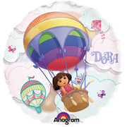 Dora The Explorer Foil Supershape Balloon (66cm) Pk 1