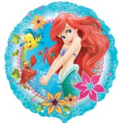 Ariel Under the Sea Foil Balloon (17in) Pk 1