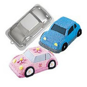 3D Car Cake Tin Pk 1 (1 Tin Only)