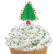 Honeycomb Tree Cupcake Pix Pk 12 (Picks Only)