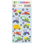 Little Trucker Stickers (1 Sheet of 78 Stickers)