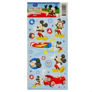 Mickey Mouse Party Stickers (1 Sheet of 50 Stickers)