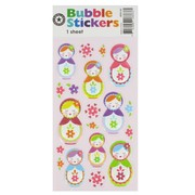 Stickers Bubble Babushka Pk1
