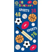 Assorted Sports Stickers (38 Stickers)