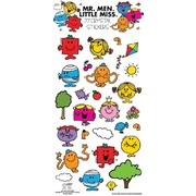 Assorted Mr. Men & Little Miss Crystal Stickers (27 Stickers)
