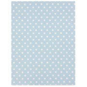 Gift Wrap Medium Dots Blue 700mm x 495mm Pk1