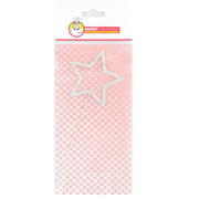 Diamante Star Cake Decoration (6cm) Pk 1
