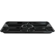 Platter Chip and Dip 2Pk Black 45x27cm Pk2