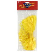 Ribbon Pre Clipped Yellow Pk50