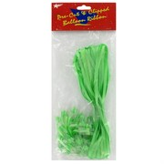 Ribbon Pre Clipped Lime Green Pk50