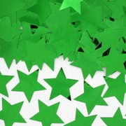 30mm Green Stars Confetti Pk 1