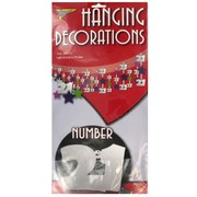 Decoration Ceiling Hanging 21 Assorted Pk1