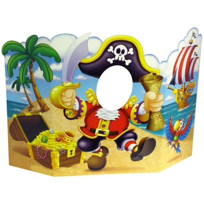 Photo Prop Pirate 94x64cm Pk1