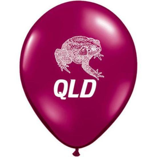 Qld cane toad balloons state of origin