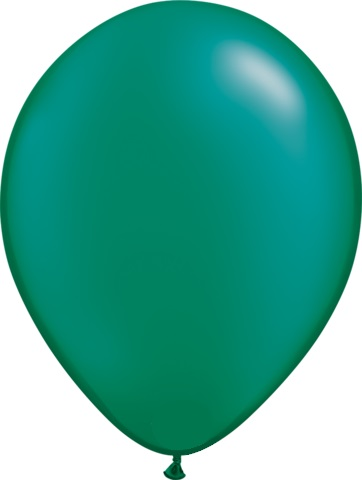 Pearl Emerald Green Balloon