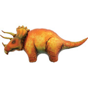 Triceratops Dinosaur 50in. Foil Supershape Balloon Pk 1