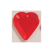 Mini Heart Snack Tray Pk 1