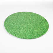 Grass Print Round Cake Board (10in.) Pk 1