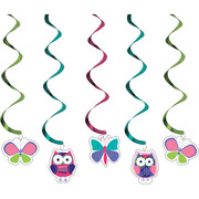 Owl Pal Birthday Dizzy Danglers Pk 5